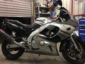 Yamaha yzf 600 thundercat / bikes / cars
