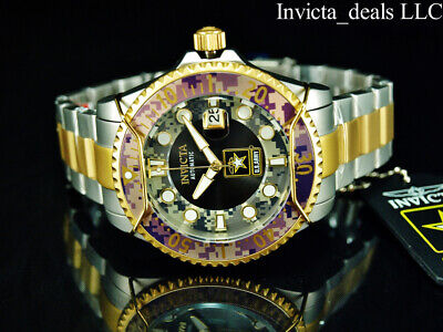 Invicta Men's 47mm U.S ARMY GRAND DIVER Automatic Camouflage Gold Two Tone Watch