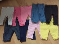 Baby girl clothings sizes 0-12 months