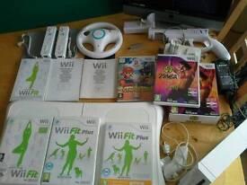 Wii Bundle Board/Games etc
