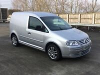 VW CADDY TDi - VOLKSWAGEN - Topspec - Low miles - No Vat - Delivery available