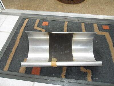 Dachrinnen Dehnungsausgleicher aus Alublech 33 cm Zuschnitt