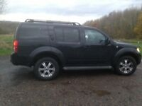 Nissan Pathfinder 2.5 Dci Aventura 4x4 7 seats leather 4 months MOT+ service history