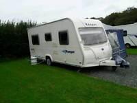 Bailey Ranger 460/4 fixed bed caravan