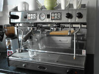 Brasilia 'Maior' tall coffee machine, two group commercial, MUST GO - OFFERS