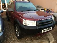 2003 land rover freelander 2.0l td4 full mot