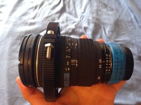 Tokina 28-70mm with speedbooster