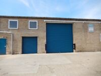 Industrial Unit close to Cambridge with B2 General industrial Use 8251Sq Ft Unit 5 Lion Works