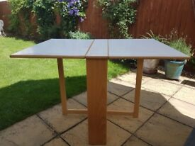Extendable (butterfly) dining table