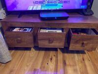 Wooden tv unit or sideboard