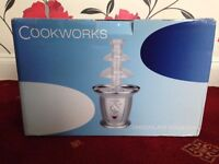Cookworks Chocolate Fountain Silver