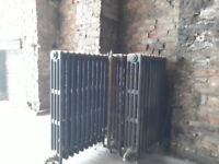 Old Victorian radiators.
