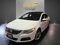 2012 Volkswagen CC HIGHLINE LEATHER PANORAMIC ROOF 17ALLOYS