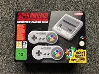 Super Nintendo Classic Mini SNES £110 BRAND NEW