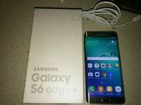 Samsung Galaxy S6 Edge Plus Boxed Excellent Condition