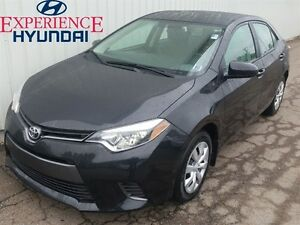 2015 Toyota Corolla LE GREAT  DEPENDABLE AND SOLID CONDITION WIT
