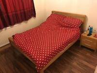 Double bed frame and free mattress £100