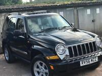 JEEP CHEROKEE 2.8 AUTOMATIC CRD LIMITED 56 PLATE
