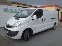 2013 vivaro top spec long wheel base uk van £6250 london van derry belfast vans-u-you.co.u k