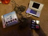 Nintendo ds charger and games
