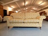 Beautiful Laura Ashley Mortimer Fabric 2-3 Seater Sofa