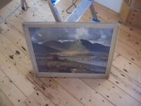 Vintage Maurice Canning Wilks print A Break in the Clouds