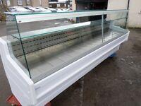 Serve-Over Display Counter (3m) (NEW) fridge