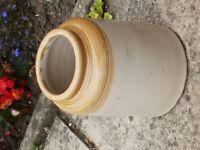 Ceramic open top kitchen jar