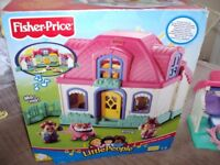 Fisher price house with sounds and people