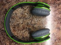beats by Dr Dre - S O L O H D Green (original volume/track control headphones wire included)