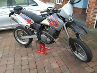 Super moto CCM 644 duel sports