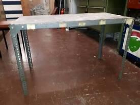 Industrial look table