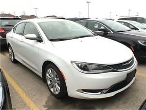 2016 Chrysler 200 COURTESY CAR*ONLY 2627 KMS*LIMITED*PARKVIEW BA