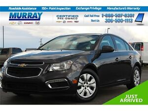 2015 Chevrolet Cruze LT w/1LT*FINANCING AS LOW AS 0.9%* Moose Jaw Regina Area image 1
