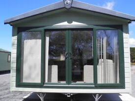Sited Static caravan for sale in lamplugh