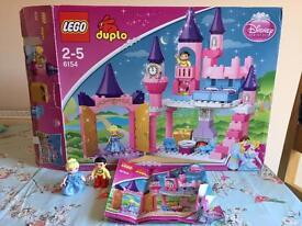 Lego Duplo 6154 Cinderella's Castle ** Complete**