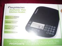 WeightWatchers ProPoints Plan kitchen Scales, Brand New in box and never used