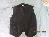 Leather waistcoat