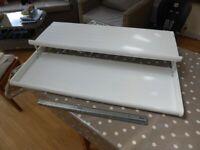 FREE: IKEA Komplement Shoe Shelf, White, for 100cm wide PAX wardrobe