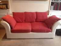 Large comfy classic Sofa - needs a bit of attention- £42 or near offer