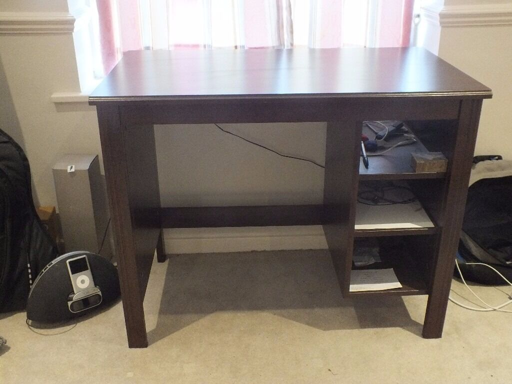 Ikea brusali desk good condition less than a year old in