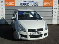 Suzuki Splash SZ2 (£20.00 ROAD TAX) FREE MOT'S AS LONG AS YOU OWN THE CAR!!! (white) 2012