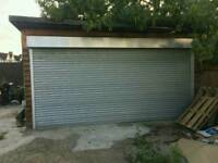 Private Shutter Gated Lock up garage for rent