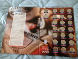 FOOTBALL 1998 MEDAL COLLECTION