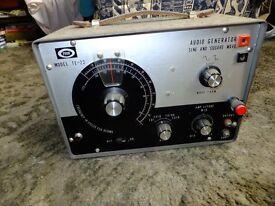 Tech audio generator