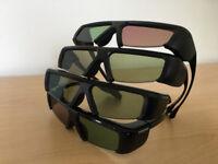Samsung 3D Glasses Model SSG-3001GB 4 Pairs