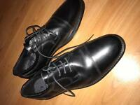 Men's Leather Shoes - Size 10