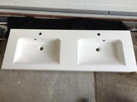 Twin Bathroom Basin / Sink