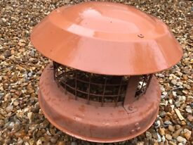 Chimney Pot Bird Guard
