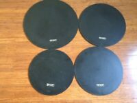 Wokingham Drum Sales - Set of Drum Silencers/Practise Pads